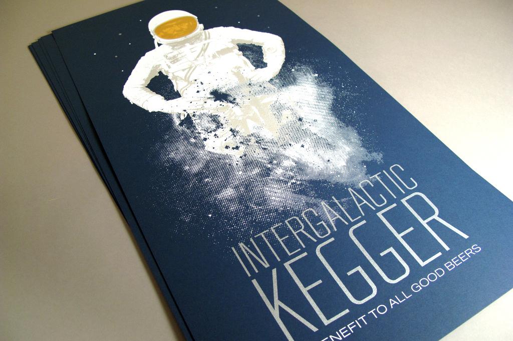 Intergalactic Kegger  Visual Notepad