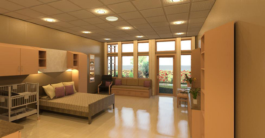 Bay View Birthing Center  Design Portfolio