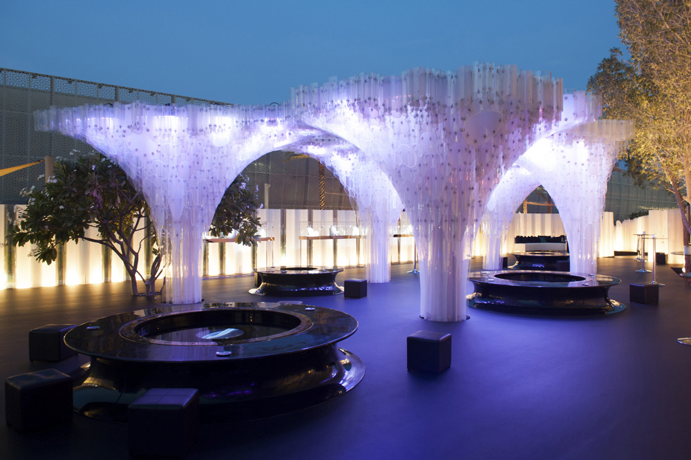 BVLGARI Pavilion  Not a Number Architects