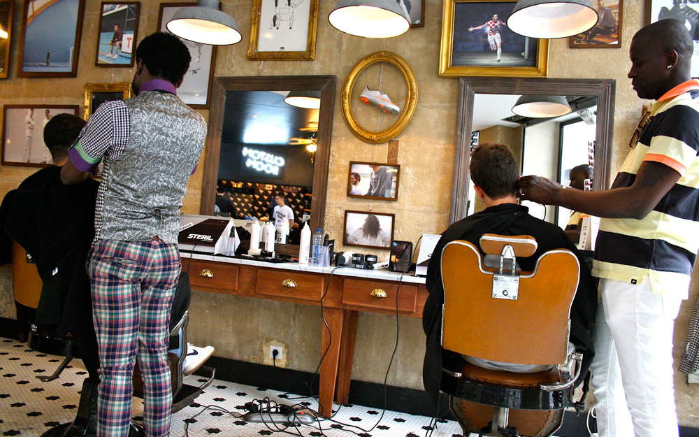 Nike Barber Shop   Colin Cornwell  Design  Art Direction