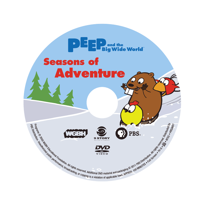 Peep And The Big Wide World DVDs Jonathan Rissmeyer
