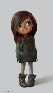 zac retz - character design illustration