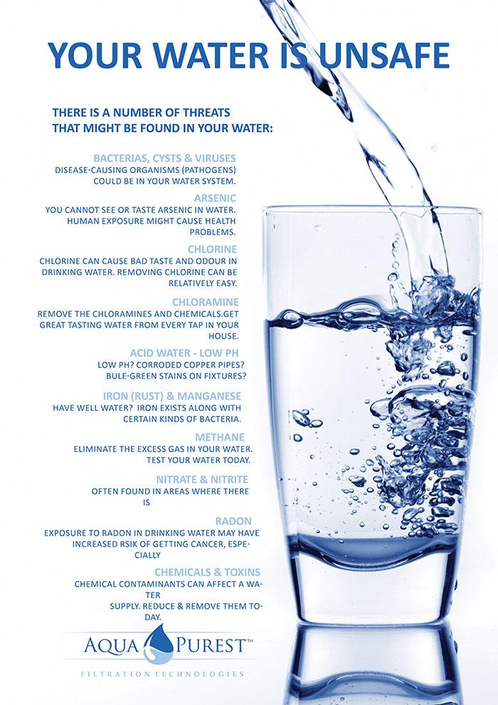 Aqua Purest Promotional Material Desired Designs