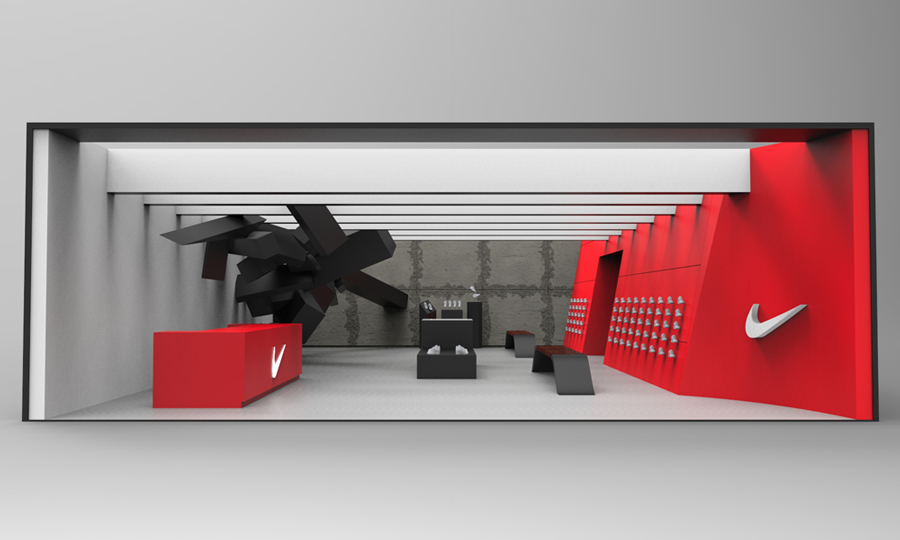 Nike Store Concepts  pipkindesign