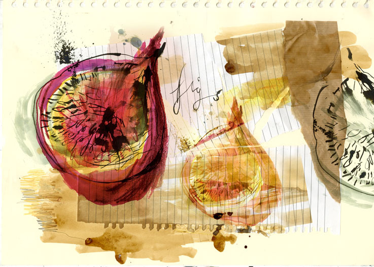 Food Illustration  Clair Rossiter illustration