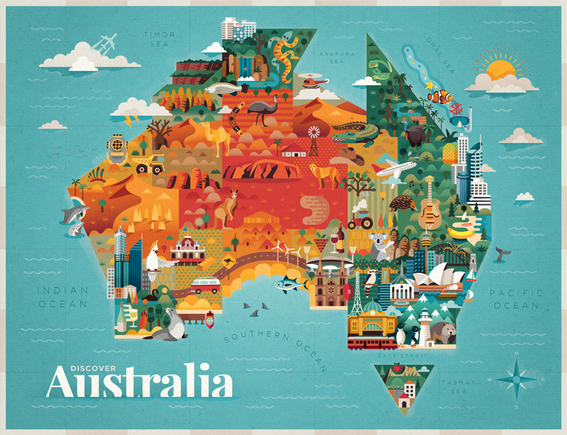 Discover Australia by Jimmy Gleeson