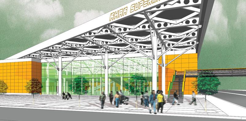 Khak Supermarket Minus5 Architects