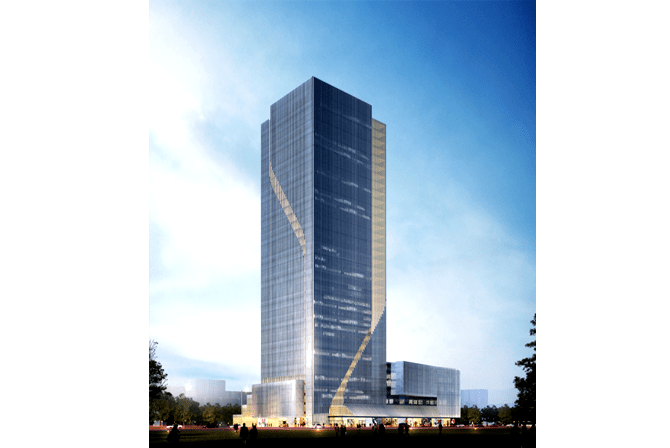 2013 Concept Design for Macalline Office Tower Taiyuan