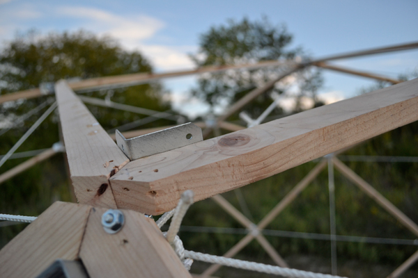 Wooden Space Frame Exploration  Erin Hylton Architecture