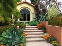 Front Yard Landscape Ideas with Succulents