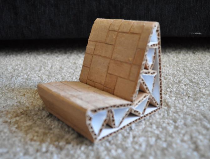 the chair office high cardboard - danni design