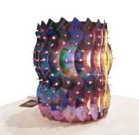 Recycled CD Lamp - JooEun Design