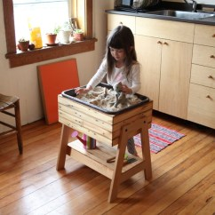 Counter Height Kitchen Tables How Much Does It Cost To Replace Cabinet Doors Sandbox! Indoor Sand And Water Table - Elephant ...