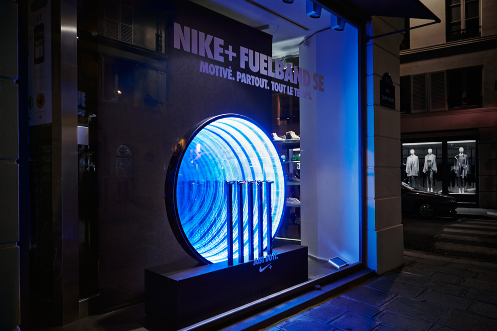 Nike Fuelband SE at Colette Paris   Colin Cornwell