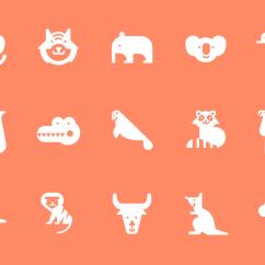 Kitchen Furniture For Small Kohler Coralais Faucet Anonymous Animals - Jefferson Cheng — Design & Illustration