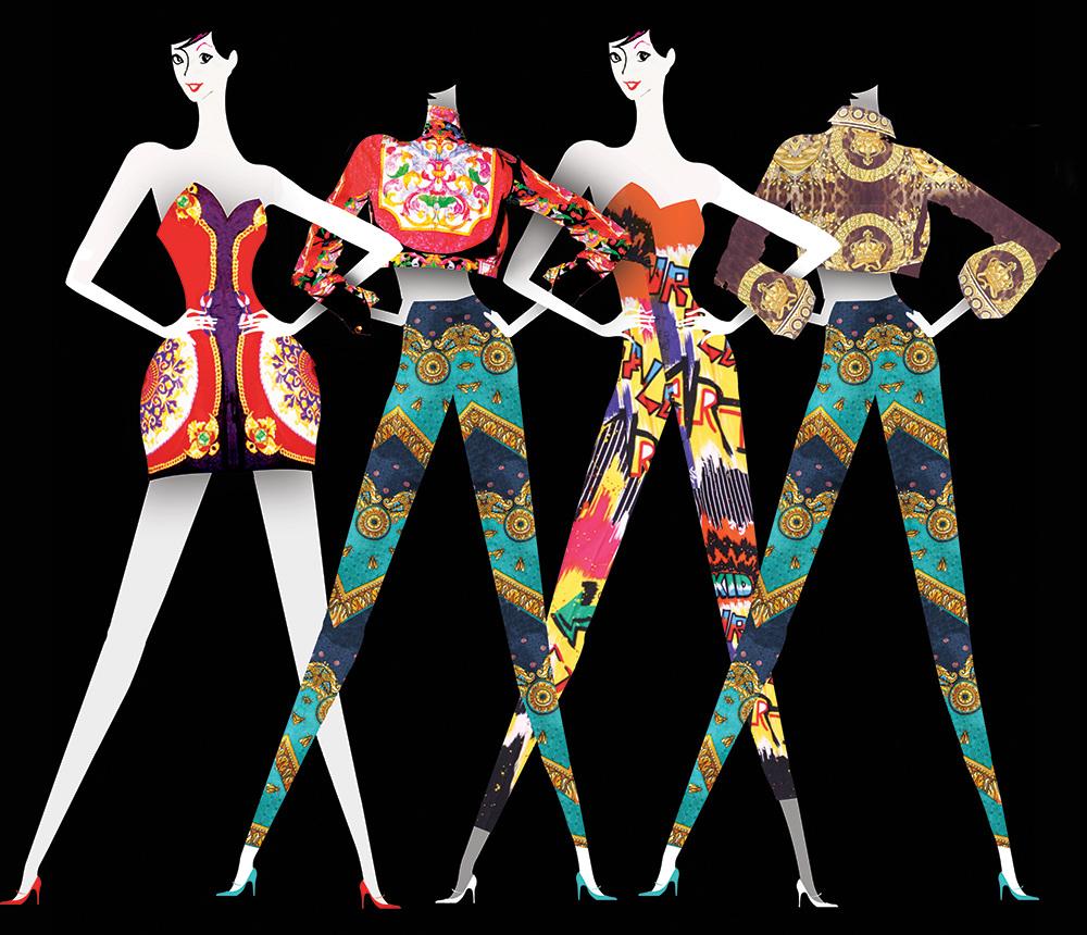 VampA The Glamour Of Italian Fashion Lesley Barnes