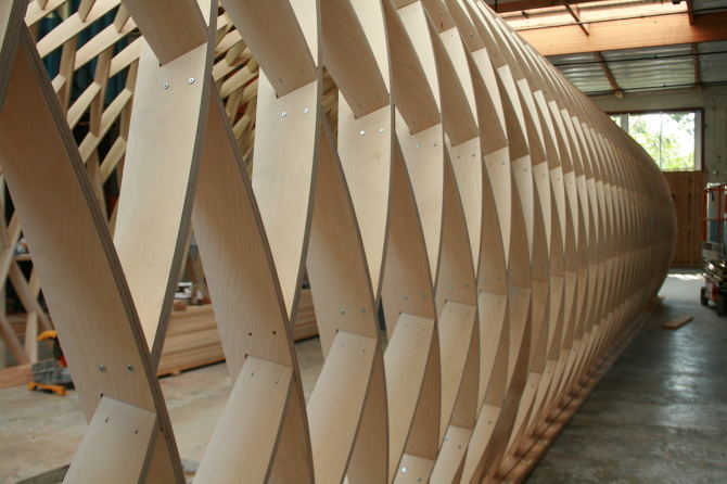 Lamella Structure  KEITH R BERRY