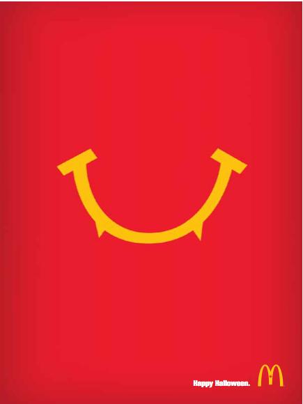 McDonalds Halloween  Dan Cummings Copywriting Portfolio