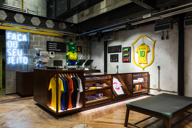 Copacabana Nike Football Store Rio  David Brady