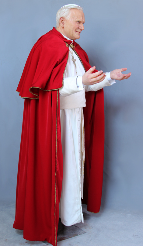Pope John Paul II Wade Waxworks