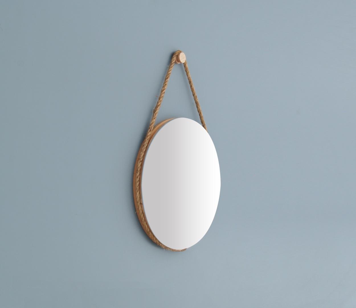 Hanging Mirror Maple  2012  Lukas Peet Design