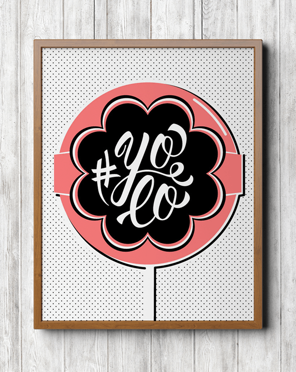 Love Life to Death  Lettering Posters  Nisrine Sarkis
