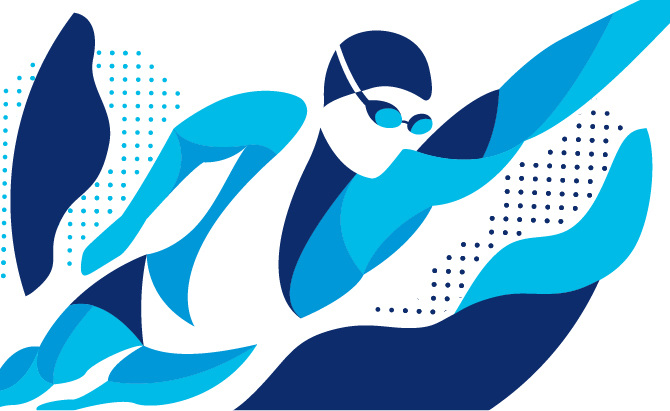 USA Swimming Graphic Design Portfolio Of Marina Groh