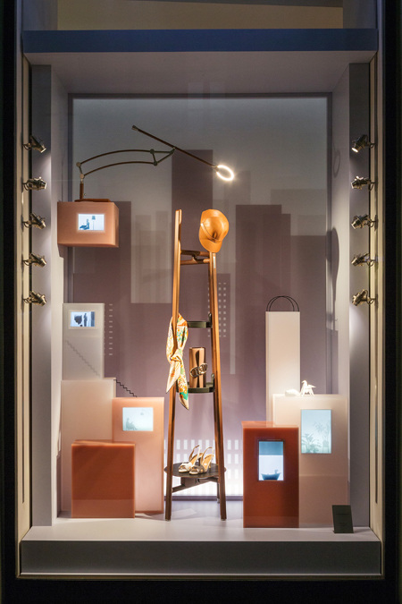 Herms Window Display Milan  Studio WM