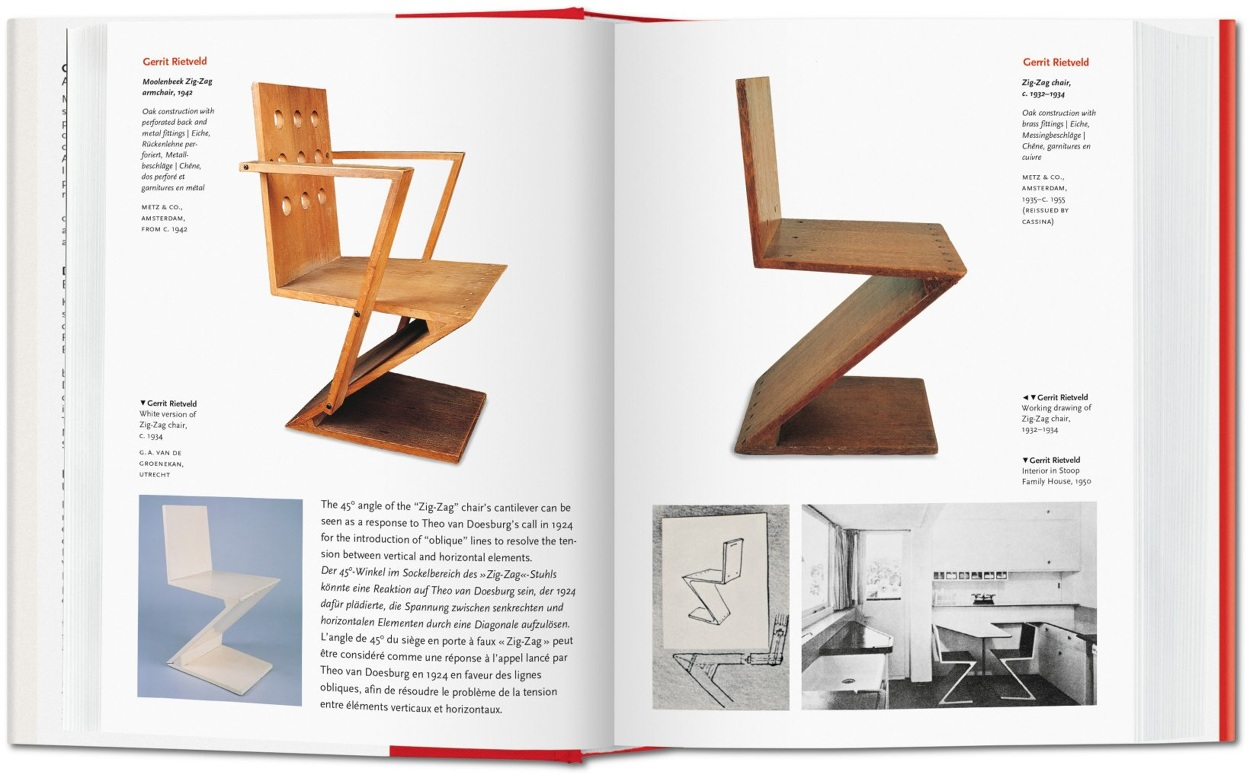 1000 Chairs  Charlotte  Peter Fiell  Design Books