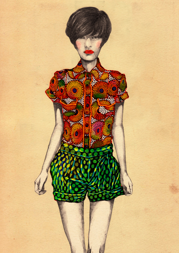 Africa Fashion Guide  Natsuki Otani Illustration