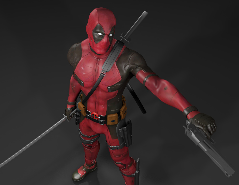 Deadpool Maximum Effort Chrisdarmon Com