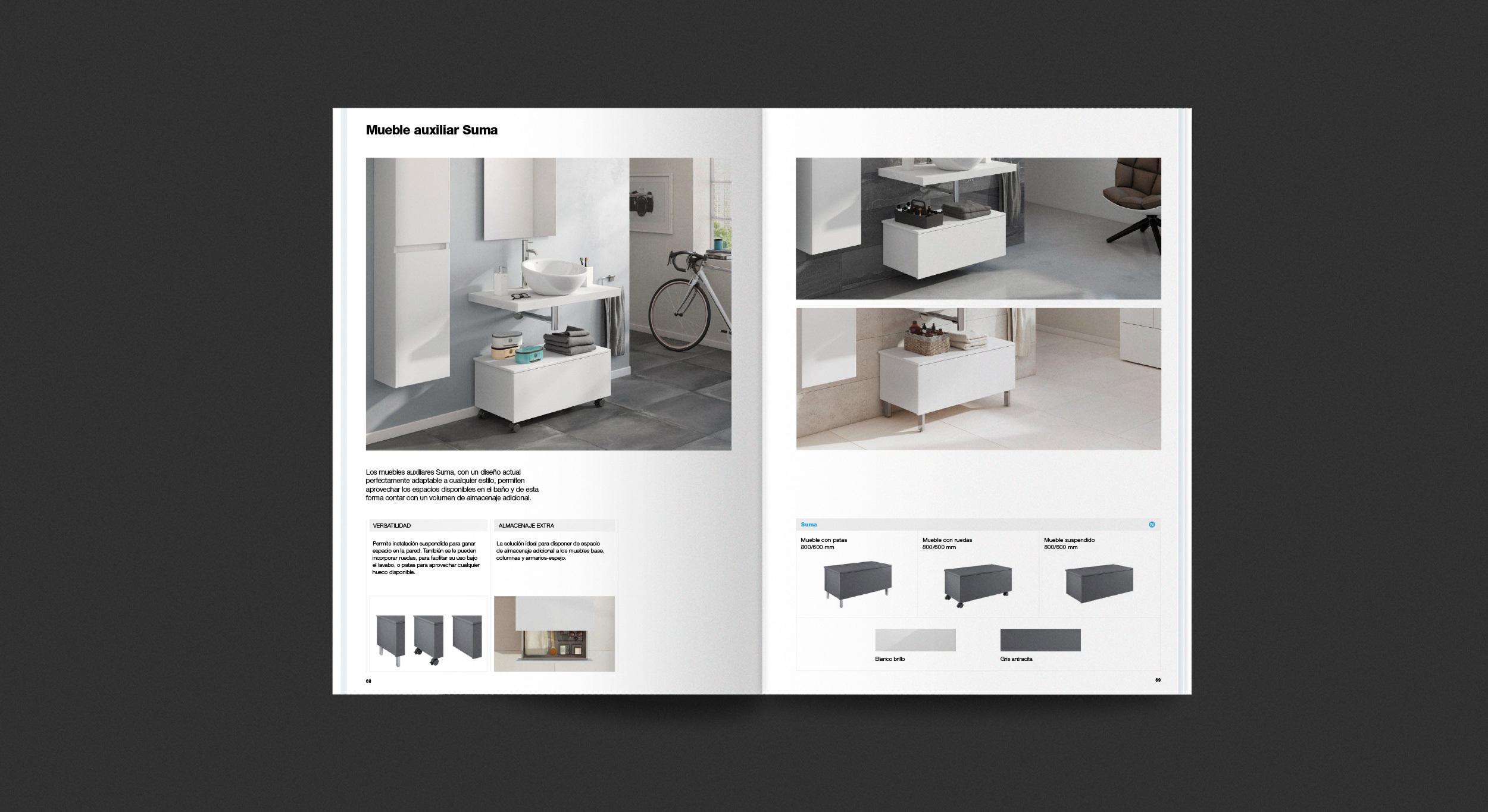 Mueble Bajo Lavabo Con Ruedas Trendy Muebles De Bao With