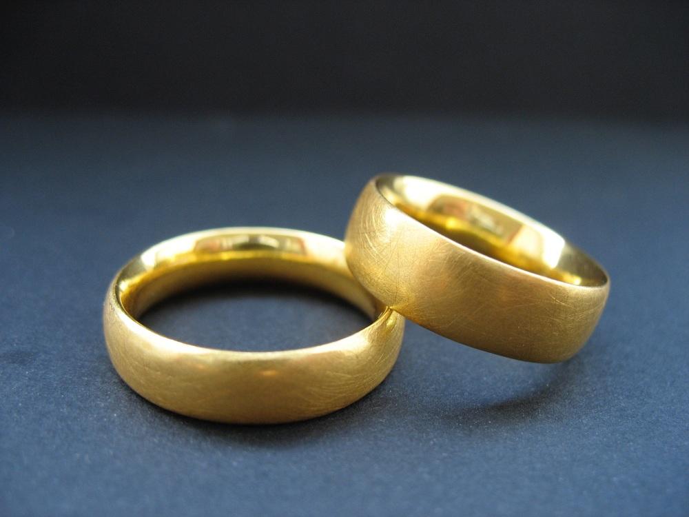 Herren Ringe Rosegold