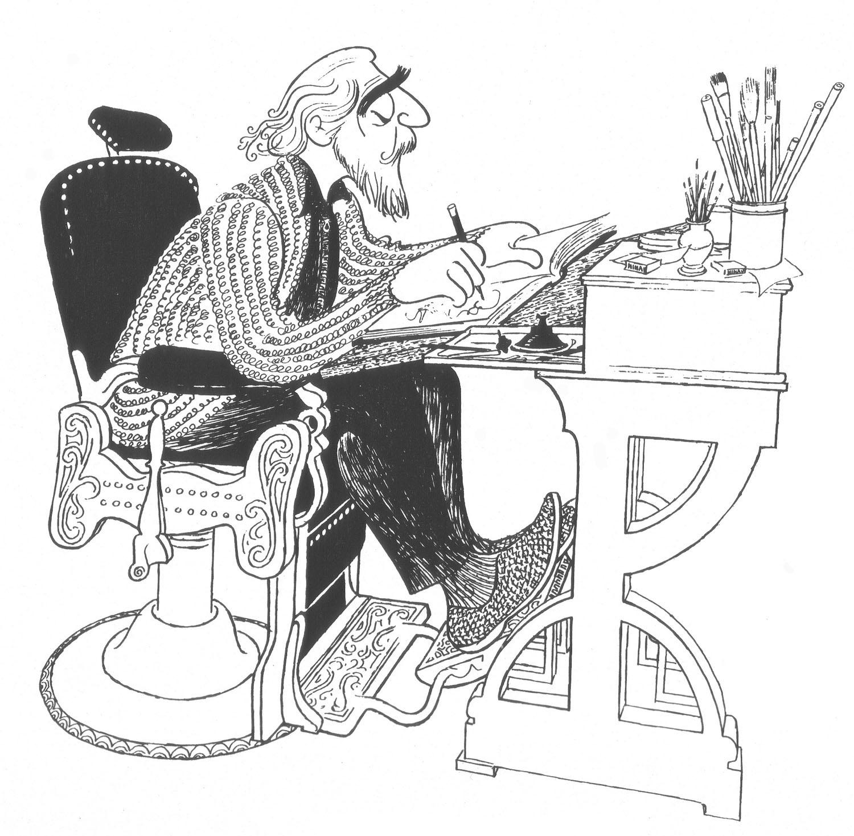 Al Hirschfeld Broadway S King Of Caricature