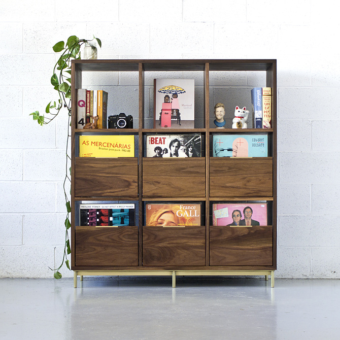 Korgis Record CabinetBookshelf  mitztakahashicom