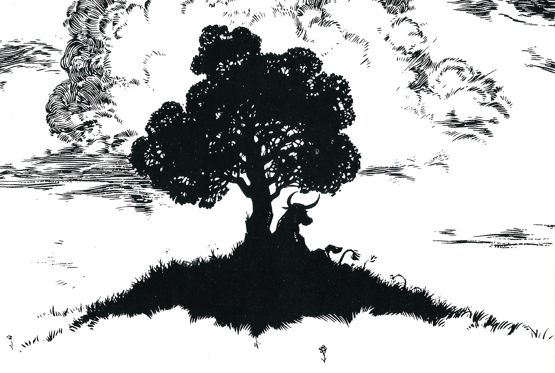 Image result for Ferdinand original illustration last page