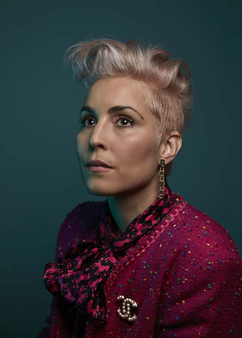 tearsheet Jude Edginton photographs Noomi Rapace for The Wall Street Journal  instituteartistcom