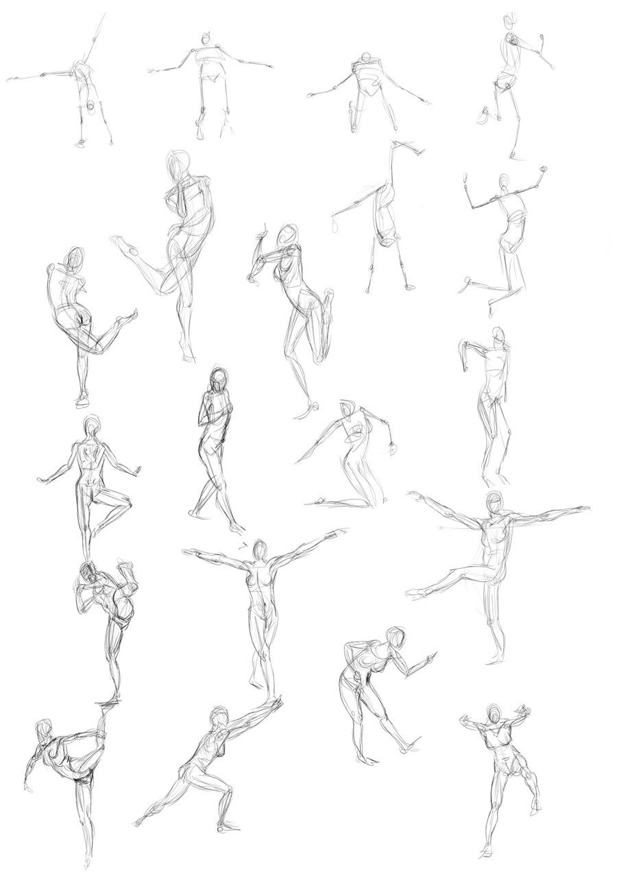 Sketches And Studies Artist Ott Bettina