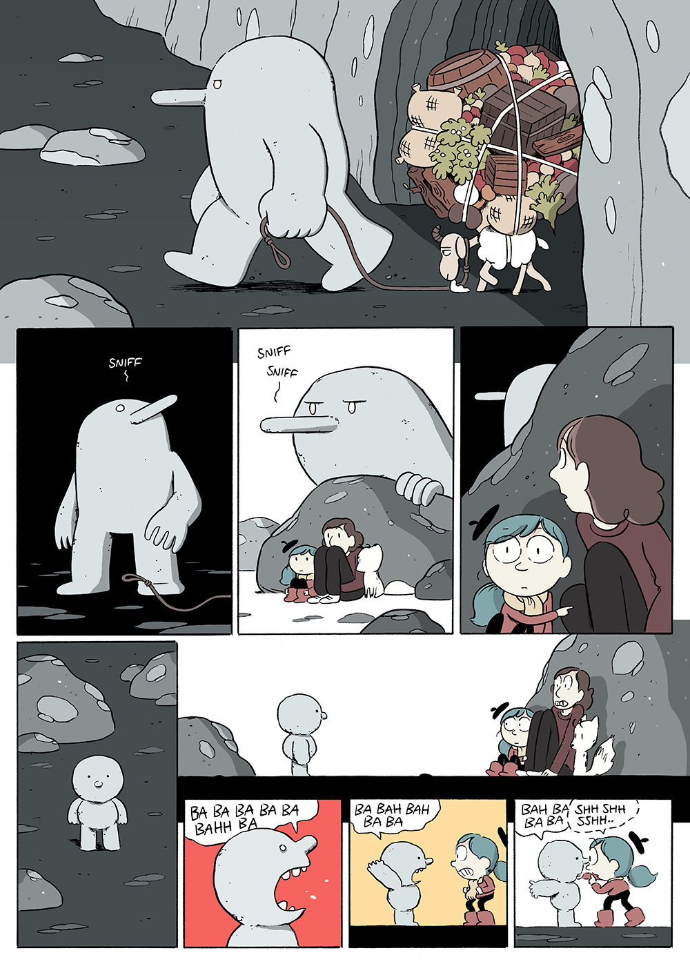 Hilda and The Stone Forest  Luke Pearson  Illustration