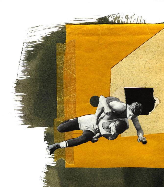 wrestling, men