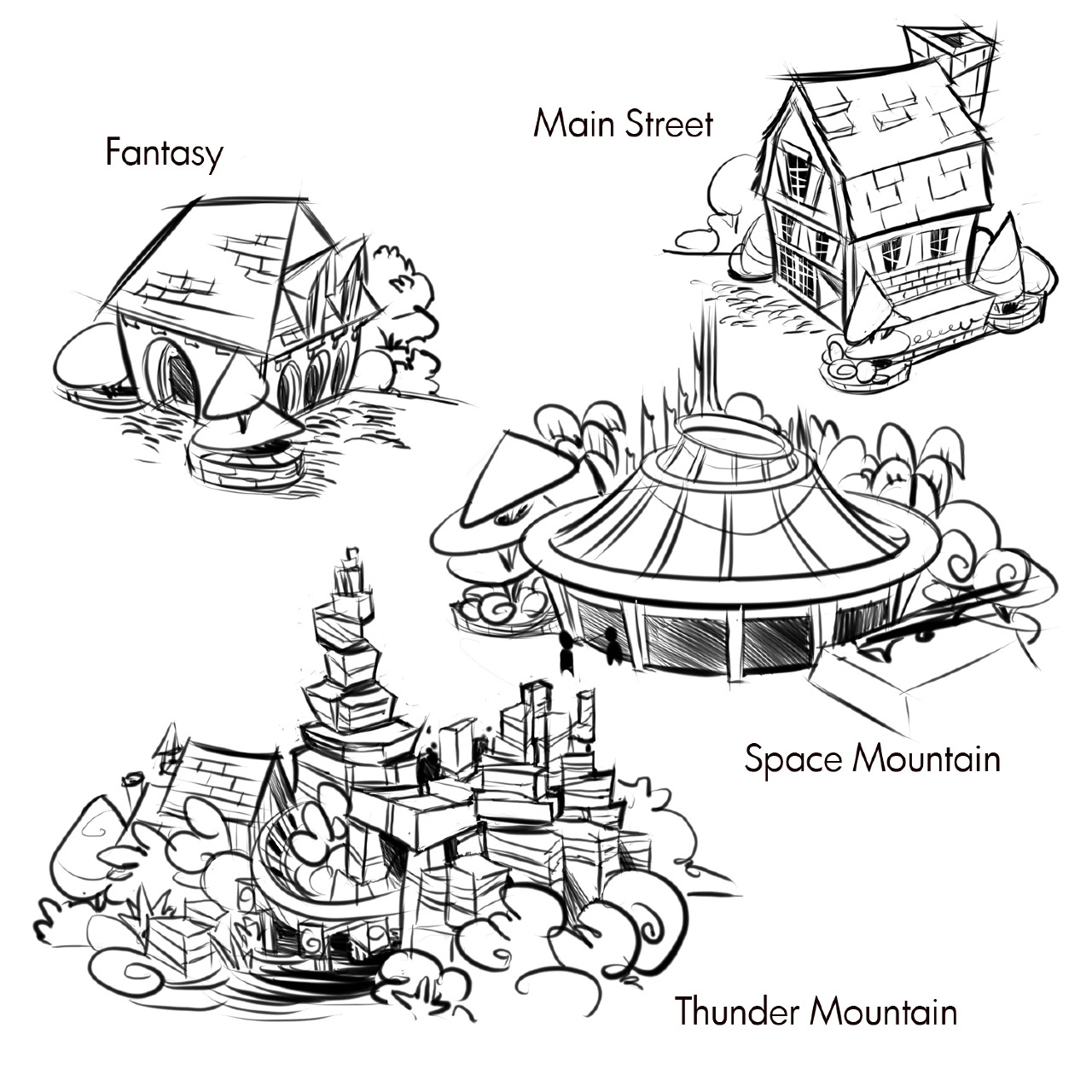 Free magic kingdom castle coloring pages
