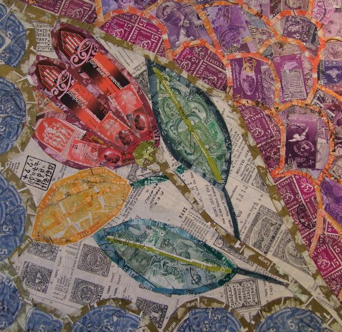 Inspired by Gaudi  Rachel Markwick  Fine art  collage