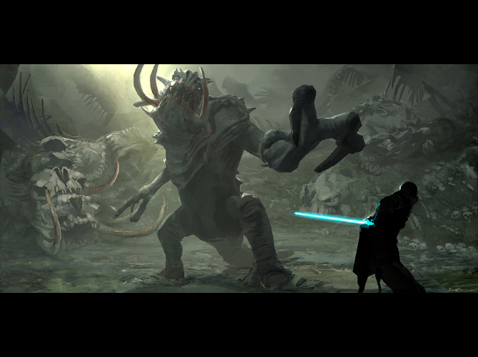Force Unleashed I Artbyabc Com