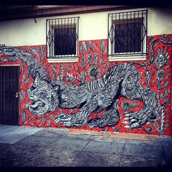 Zio Ziegler San Francisco Los Angeles - Unurth Street Art