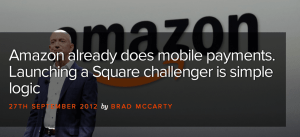 Amazon does mobile Payments 28.09.2012