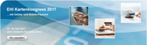 EHI Kartenkongress 2017 Online-und Mobile Payment