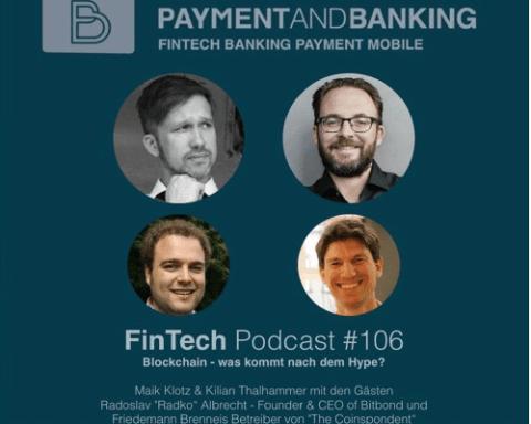 FinTech Podcast #106 - Blockchain, was kommt nach dem Hype?