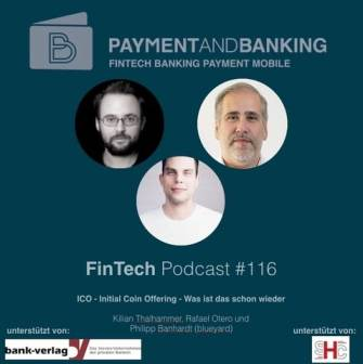 FinTech Podcast #116 - ICO Initial Coin Offering