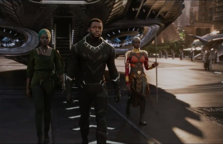 black panther official trailer