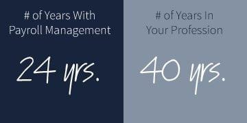 employee longevity at Payroll Management
